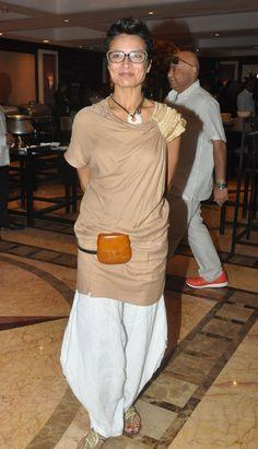 Adhuna Akhtar Farhan Akhtar's wife Adhuna is a reputed hairstylist. She also runs her own store Bblunt. The smart lady has also done styling in the B'wood film Dil Chahta Hai, which even became a style statement.