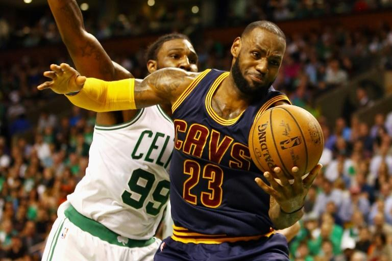 Irving, James lead the way as Cavs down Celtics