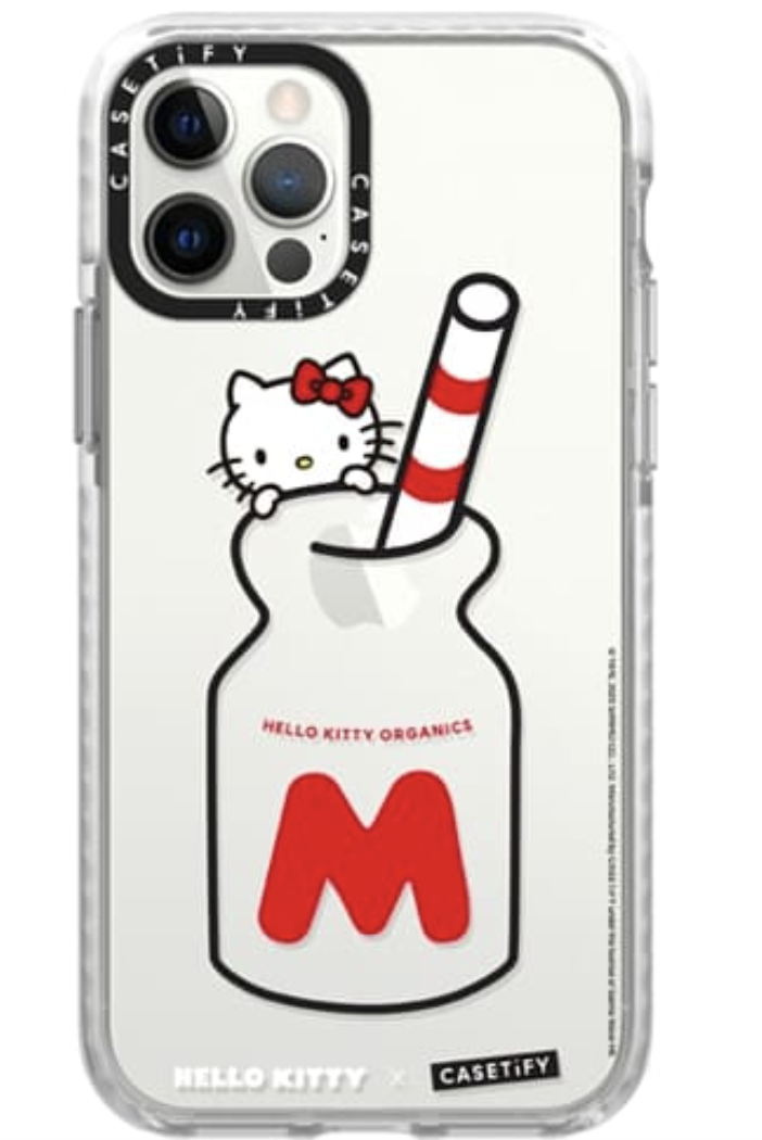 Casetify X Hello Kitty Organic Milk Case