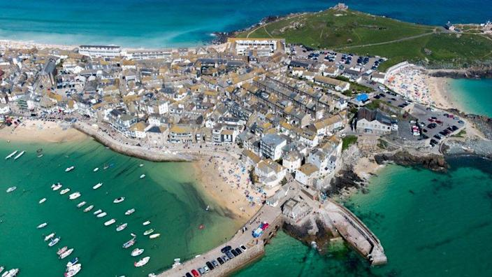 St Ives, near to where the officials will meet