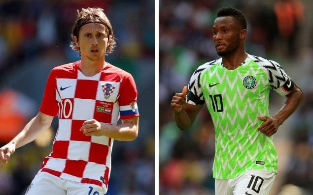 "What is it? This is the World Cup 2018 Group D match between Croatia and Nigeria. When is it? The match takes place on Saturday, June 16. What time is kick-off? It will begin at 8pm (BST). What TV channel is it on? The honours for this one go to ITV1. The other option away from TV is to stay right here and follow all the team news, build-up and action when this page turns into our live blog. World Cup 2018 Simulator Single Game Where is the game being played? It is one of four matches to be played at the Kaliningrad Stadium... in Kaliningrad. World Cup 2018 stadium: Kaliningrad Stadium What is the team news? Nigeria will rely heavily on 31-year-old captain John Obi Mikel to marshal the youngsters when the Super Eagles meet Croatia and its star-packed midfield. The opening Group D match pits Mikel and his young team-mates against a Croatia team powered by one of the tournament's strongest and most experienced midfields: Luka Modric and Mateo Kovacic of Real Madrid, alongside Ivan Rakitic of Barcelona. However, Kovacic may have to settle for a place on the bench alongside the likes of Milan Badelj. Nigeria look set to pick 19-year-old Francis Uzoho in goal. Kelechi Iheanacho and Ahmed Musa may not make the starting XI. World Cup 2018 | Fixtures, groups, squads and more What's the latest news on the two teams? Wilfred Ndidi has overcome injury in time and will be fine to start for the Super Eagles. Nigeria head coach Gernot Rohr says his starting XI is already set, but he will not reveal it ""until the last moment"". What are the odds? Croatia win: 3/4 Draw: 5/2 Nigeria win: 9/2 What's our prediction? We are predicting goals. But an split of them. Croatia 2 Nigeria 2 WorldCup - newsletter promo - end of article"