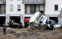 Hundreds were unaccounted for on Friday as German officials raced to find the missing