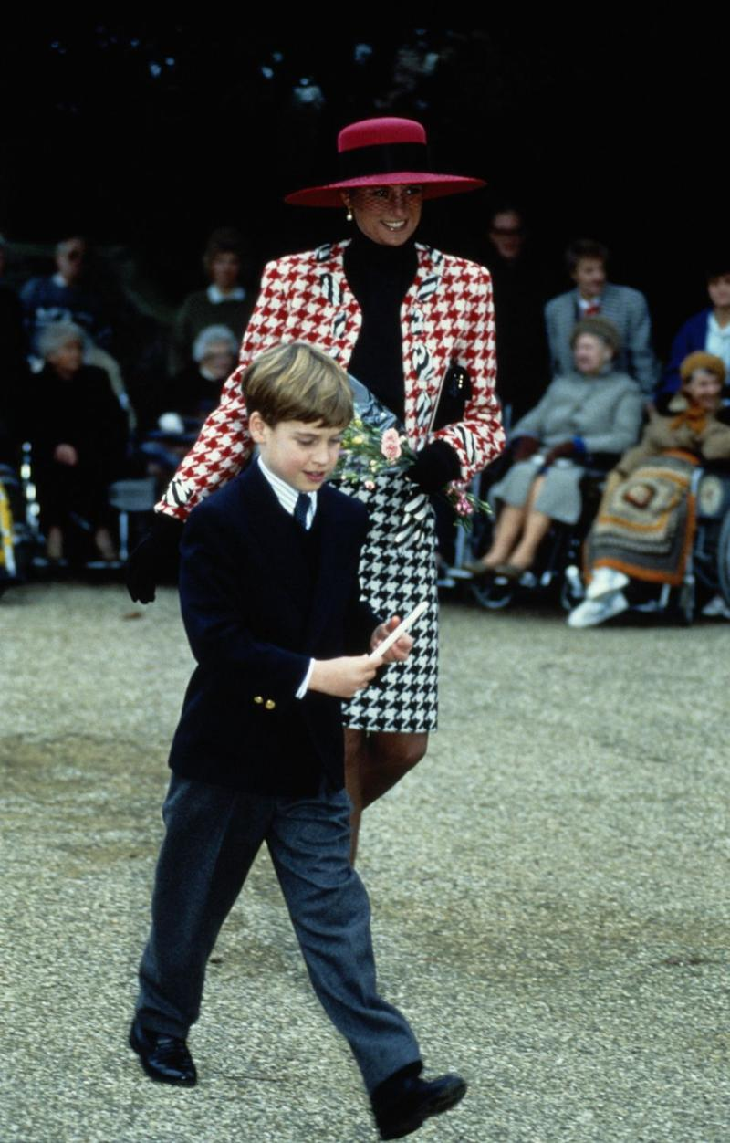 The Duchess appeared to channel Princess Diana. Photo: Getty