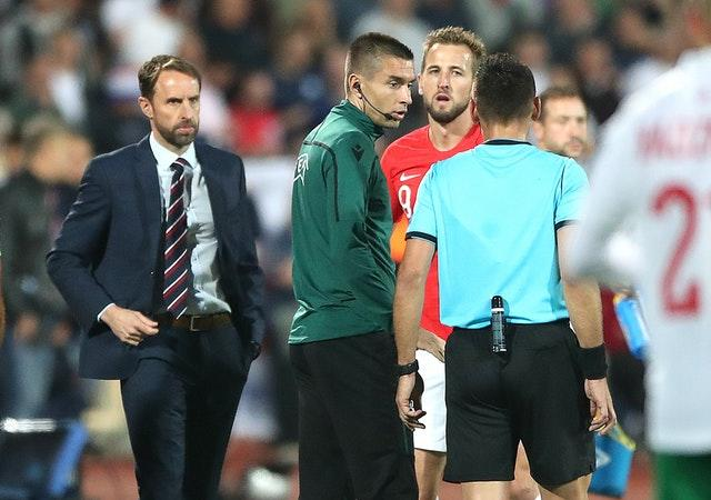 Southgate's England were subjected to racist abuse in Sofia (Nick Potts/PA)