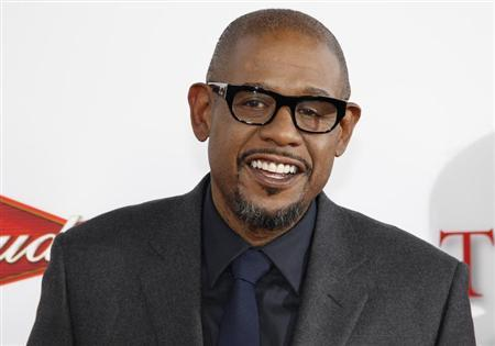 """Actor Whitaker, star of the new film """"Lee Daniels' The Butler,"""" poses at the film's premiere in Los Angeles, California"""