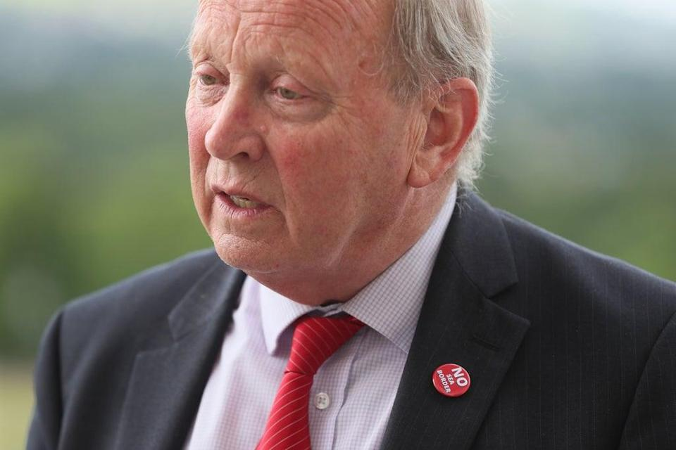 TUV leader Jim Allister said the DUP had been left with a choice between facilitating the protocol or resigning (Brian Lawless/PA) (PA Wire)
