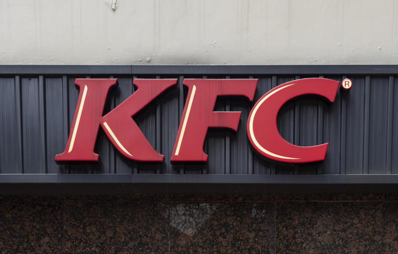 Pictured: KFC logo. Image: Getty