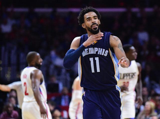 Mike Conley is in his 10th season with Memphis. (Getty Images)