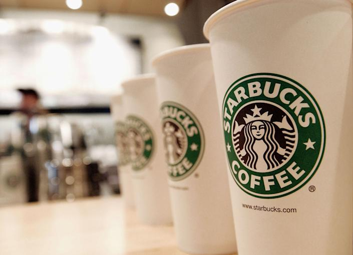Starbucks is reportedly planning to install syringe dispensers in some of its bathrooms after employees reported feeling unsafe. (Photo: Stephen Chernin/Getty Images)