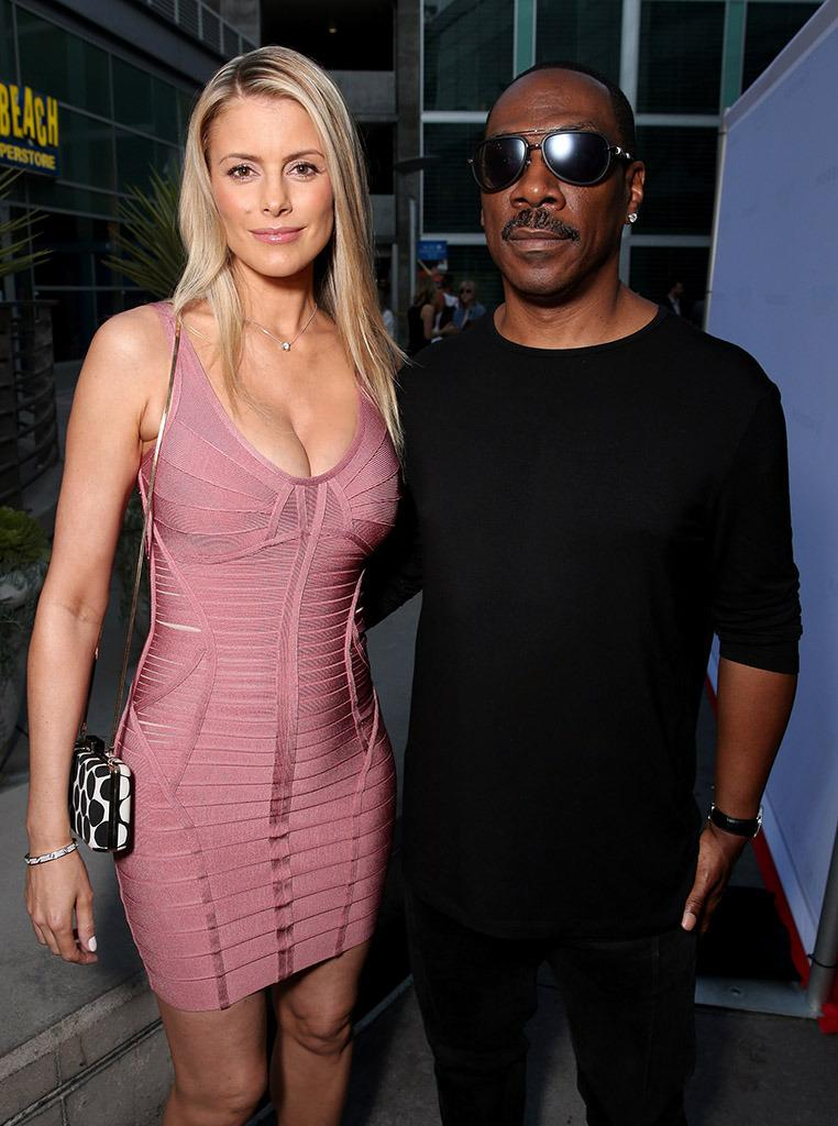 Eddie Murphy Hits the Red Carpet With His Girlfriend and ...Eddie Murphy Wife