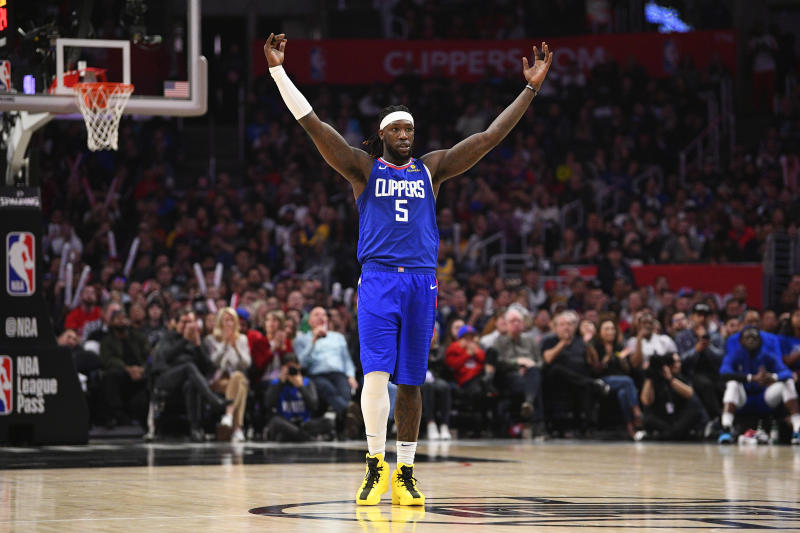 Sixth Man of the Year contender Montrezl Harrell could return to the Clippers on Friday. (Brian Rothmuller/Icon Sportswire via Getty Images)