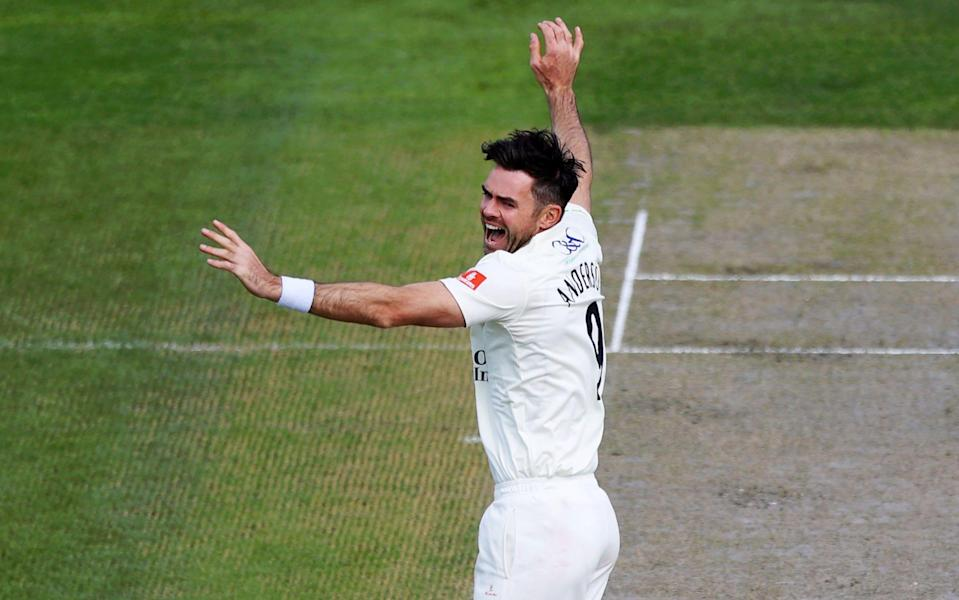 Timeless James Anderson showing he can still bowl for England at this year's Ashes - Naomi Baker/Getty Images Europe