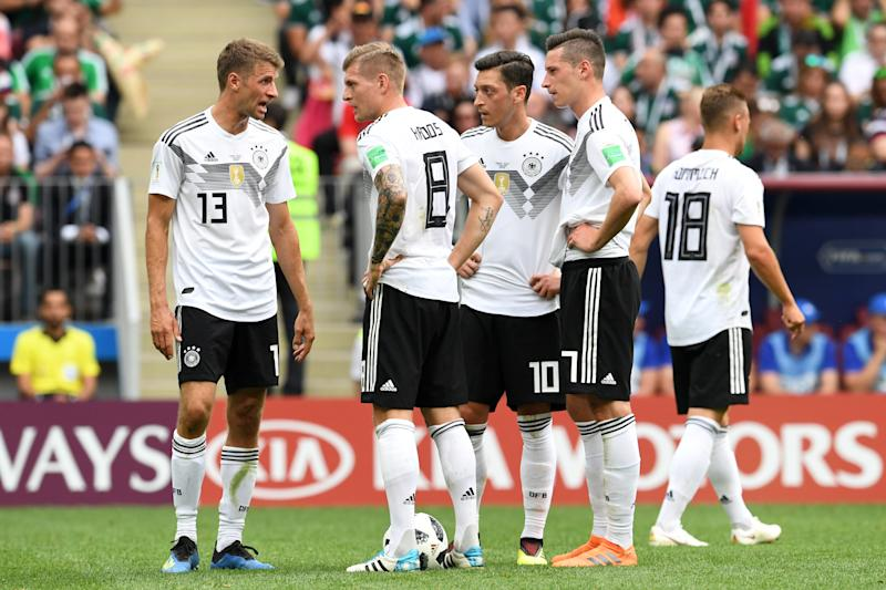 Dramatic late goal saves Germany; Mexico and Belgium victorious