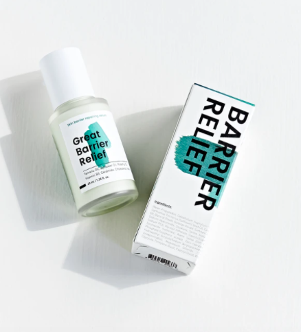 """<h2>Krave Great Barrier Relief Skin Barrier Restoring Serum</h2><br>It's all in the name: This head-to-toe serum offers serious relief, with safflower, rosehip, and tamanu oils as your dynamic trio to ease inflammation without any stickiness or residue. The addition of niacinamide helps treat acne, too.<br><br><strong>Krave</strong> Great Barrier Relief, $, available at <a href=""""https://kravebeauty.com/products/great-barrier-relief"""" rel=""""nofollow noopener"""" target=""""_blank"""" data-ylk=""""slk:Krave"""" class=""""link rapid-noclick-resp"""">Krave</a>"""