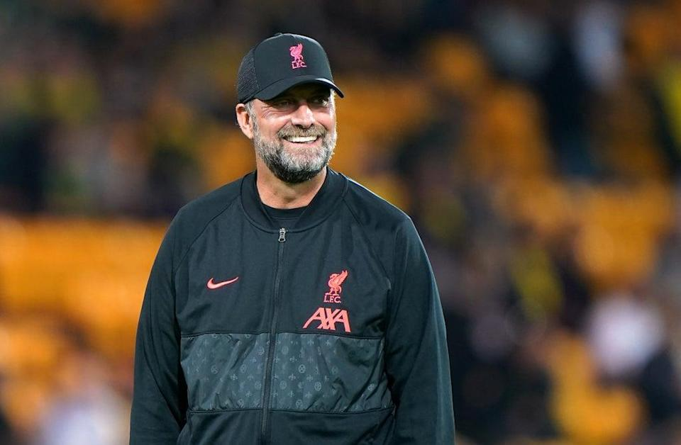 Liverpool manager Jurgen Klopp is excited at the prospect of safe standing being trialled at the top level of the English game (Joe Giddens/PA) (PA Wire)