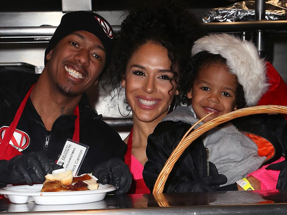nick cannon brittany bell golden cannon december 2019