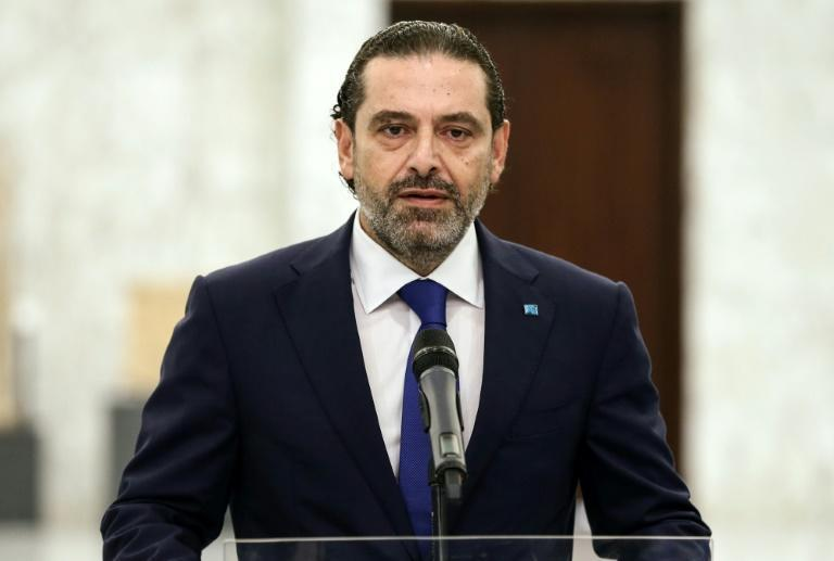 Lebanon's Saad Hariri, who stepped down on Thursday as prime minister designate, is seen in this picture by the Lebanese photo agency Dalati and Nohra on July 15, 2021