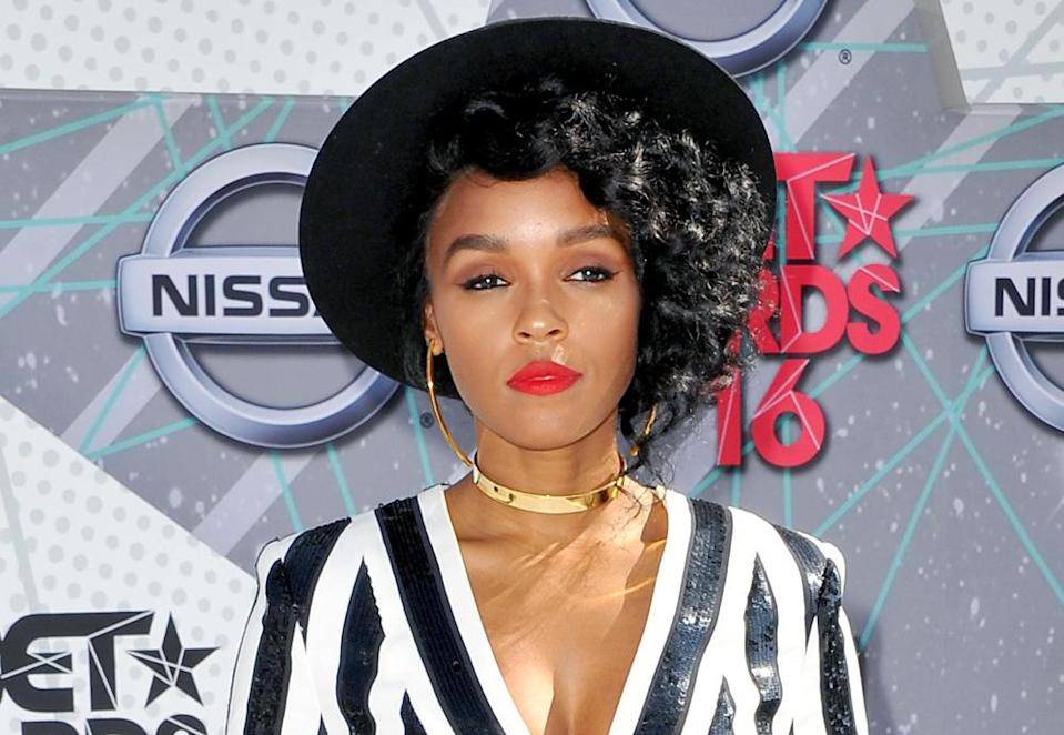 Janelle Monáe slaaaayed the red carpet at the BET Awards