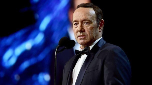 PHOTO: Kevin Spacey speaks onstage at the 2017 AMD British Academy Britannia Awards at The Beverly Hilton Hotel on Oct. 27, 2017 in Beverly Hills, Calif. (Frazer Harrison/Getty Images)
