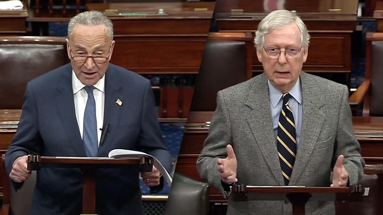 Schumer calls McConnell proposal on witnesses a 'trap'