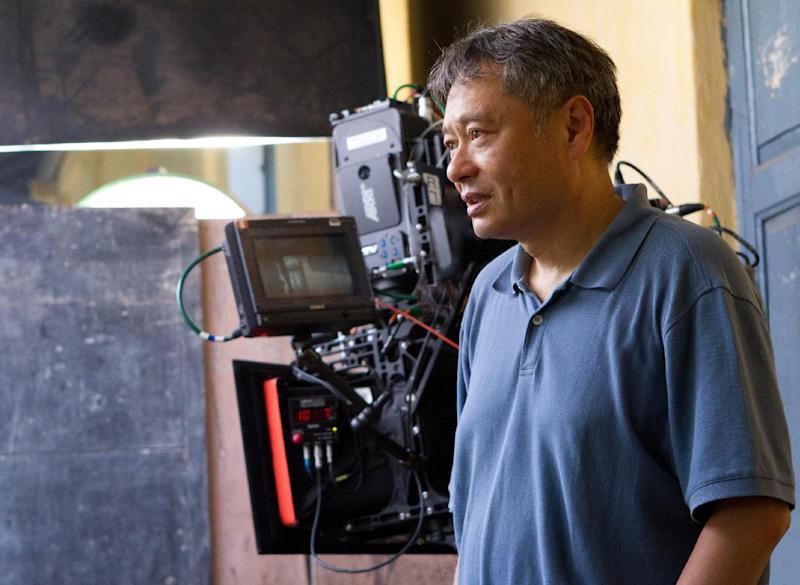 """This film image released by 20th Century Fox shows director Ang Lee on the set of """"Life of Pi."""" (AP Photo/20th Century Fox)"""