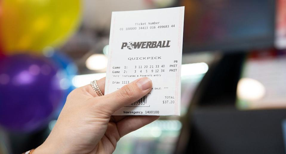 If a single entry takes out the entire $100 million division one price it would be the largest individual Australian lottery prize ever won. Source: Supplied/ The Lott (File pic)