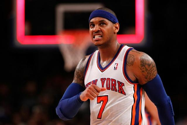 Carmelo Anthony has completed his move to the Portland Trail Blazers (AFP Photo/JEFF ZELEVANSKY)