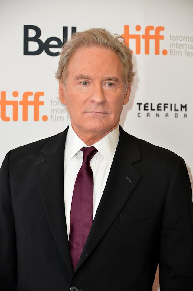 "TORONTO, ON - SEPTEMBER 05: Actor Kevin Kline arrives at ""The Big Chill"" 30th Anniversary screening during the 2013 Toronto International Film Festival at Princess of Wales Theatre on September 5, 2013 in Toronto, Canada. (Photo by Alberto E. Rodriguez/Getty Images)"