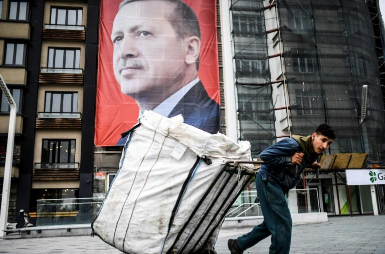 Turkish President Recep Tayyip Erdogan is locked in a bitter war of words with The Netherlands