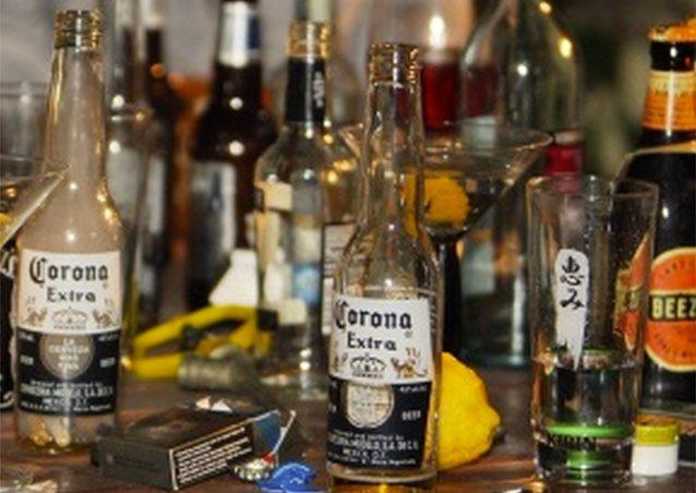 Chronic drinking may injure parts of the brain involved in emotional regulation, self-control and decision making. Photo: 7 News