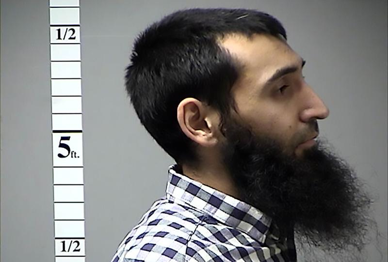Saipov had traffic citations in Missouri and Pennsylvania. (ST. CHARLES COUNTY DEPARTMENT OF CORRECTIONS/AFP via Getty Images)