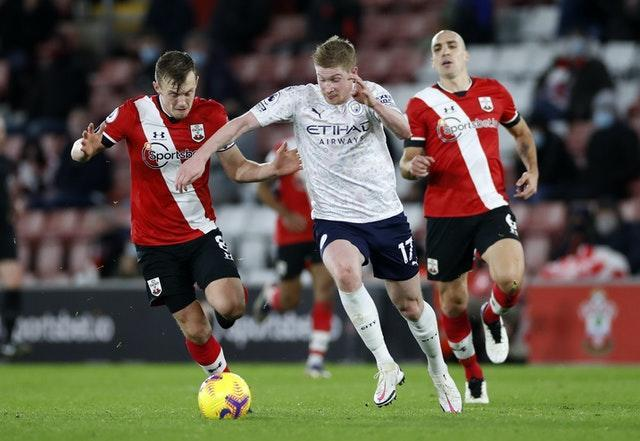 De Bruyne starred for Manchester City