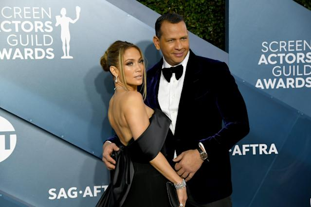 Alex Rodrgiuez and Jennifer Lopez will not be owning the Mets. (Photo by Jeff Kravitz/FilmMagic)