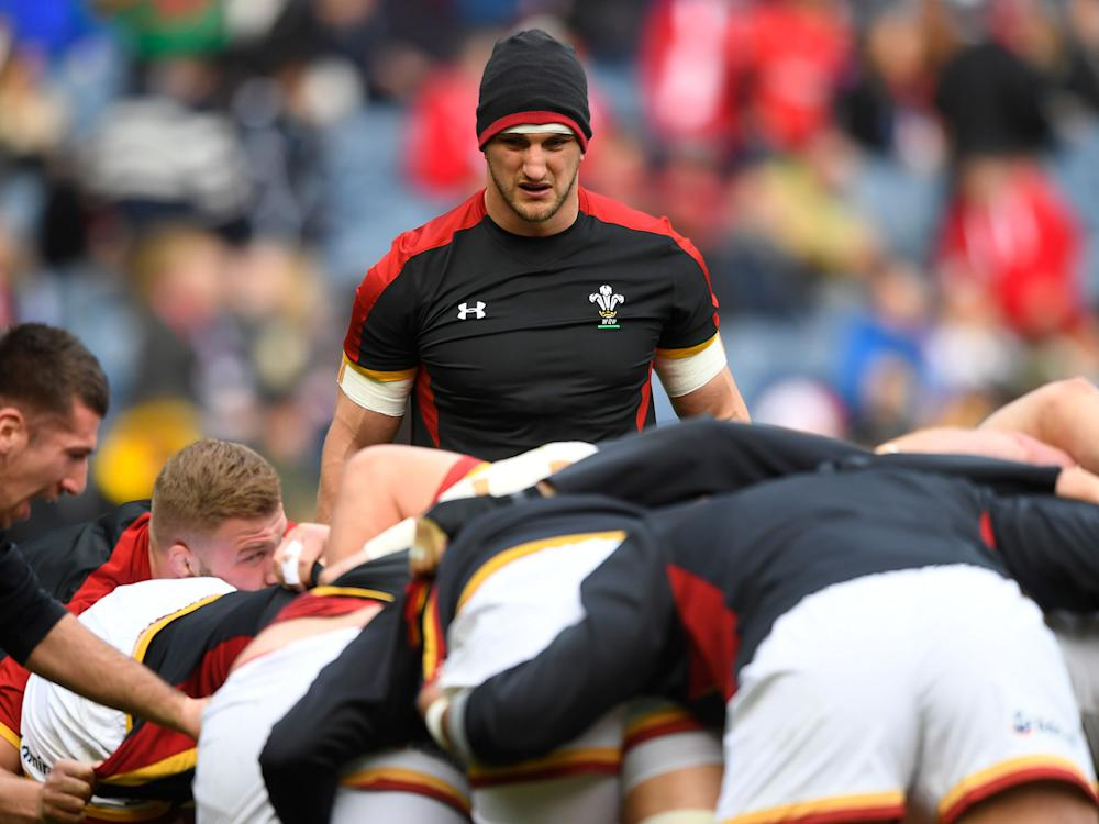 Sam Warburton stepped down as Wales captain for the Six Nations: Getty