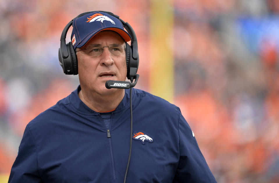 Vic Fangio condemned the George Floyd homicide and believes that it represented an isolated case of police brutality. (Photo by Eric Lutzens/The Denver Post)