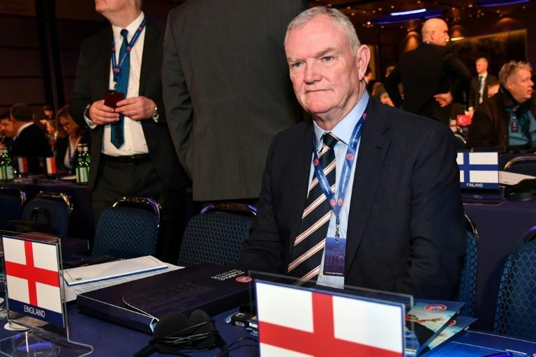 """FA Chairman Greg Clarke apologised for the use of """"coloured"""" when referring to black footballers on Tuesday"""