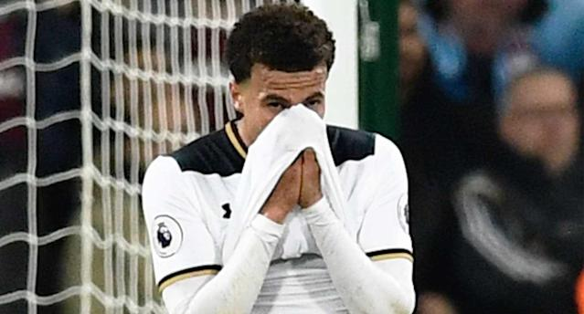 Alli and Spurs blew their chance to heap pressure on the Blues. (Reuters)