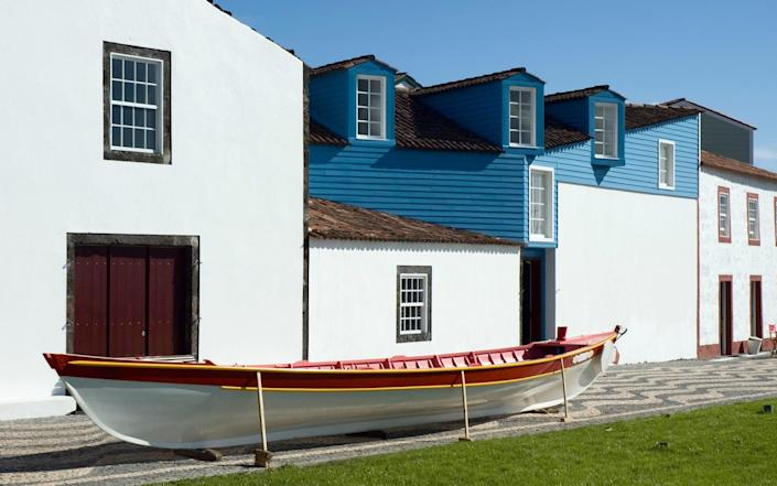 The Whalers' Museum in the port of Lajes - mrfotos/iStockphoto