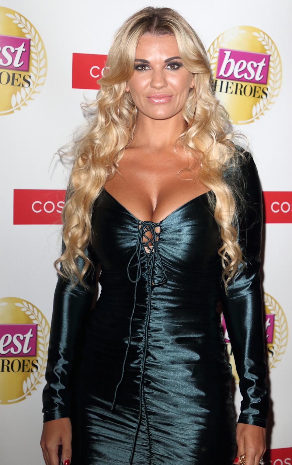 Christine McGuinness attends The Best Heroes Awards 2019 at The Bloomsbury Hotel. (Photo by Keith Mayhew / SOPA Images/Sipa USA)