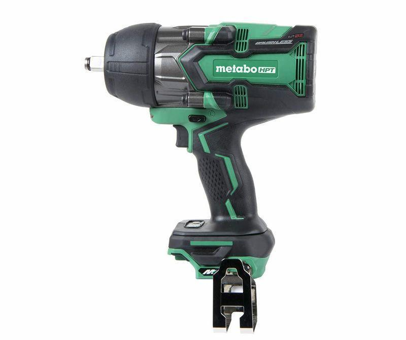 """<p><strong>Metabo HPT (was Hitachi Power Tools)</strong></p><p>lowes.com</p><p><strong>$289.00</strong></p><p><a href=""""https://go.redirectingat.com?id=74968X1596630&url=https%3A%2F%2Fwww.lowes.com%2Fpd%2FMetabo-HPT-was-Hitachi-Power-Tools-MultiVolt-36-Volt-1-2-in-Square-Drive-Cordless-Impact-Wrench%2F1002622096&sref=https%3A%2F%2Fwww.popularmechanics.com%2Fhome%2Ftools%2Freviews%2Fg2028%2Fthe-best-impact-wrenches%2F"""" rel=""""nofollow noopener"""" target=""""_blank"""" data-ylk=""""slk:Buy Now"""" class=""""link rapid-noclick-resp"""">Buy Now</a></p><p>• Power: 36-V<br>• Drive size: ½-in.<br>• Brushless motor: Yes<br>• RPM: 1,500<br>• IPM: 2,800<br>• Torque: 1,218 ft-lb<br>• Battery: not included<br></p><p>Metabo HPT's 36V uses the brand's MultiVolt power system, allowing you to plug in with an AC adapter or use a 36-volt lithium-ion battery—the best of both worlds. The tool has some heft, and is on the heavier end of the wrenches we've tested. This is reasonable, considering this is a professional-level tool suited to industrial applications. In our testing, it accomplished everything we asked of it, without hesitation. Lug nuts on our F-250 Super Duty pickup broke loose almost instantly, and then spun off easily using the highest of the three speed settings. Rusty nuts and bolts on our farm equipment took a second or two of impacting to break loose. We like that the tool is rated IP56, which means it's protected (to a degree) from dust and water getting in. So, a little rain during emergency repair on a roadside or job site isn't going to hurt it. Metabo HPT's 36V Impact wrench is a capable, versatile tool, suitable for most industrial or farm maintenance, commercial construction, or other applications that might be considered heavy duty in nature. This comes as a bare tool only; the <a href=""""https://www.amazon.com/Metabo-HPT-MultiVolt-Battery-UC18YSL3B1/dp/B07ZQR61TB?tag=syn-yahoo-20&ascsubtag=%5Bartid%7C10060.g.2028%5Bsrc%7Cyahoo-us"""" rel=""""nofollow noopener"""" target=""""_blank"""" data-ylk=""""slk"""