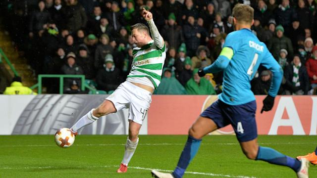 McGregor strikes late as Celtic edge out Zenit