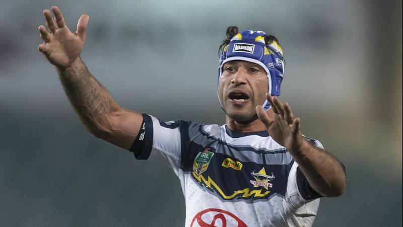 Johnathan Thurston has never 'won' a wooden spoon during a decorated NRL and representative career