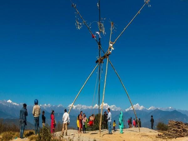 Amid the approaching winter season, tourists have started flocking to the hilly regions of Nepal.