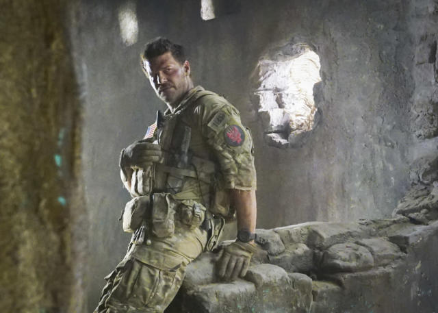 David Boreanaz as Jason Hayes in <em>SEAL Team.</em> (Photo: Monty Brinton/CBS)