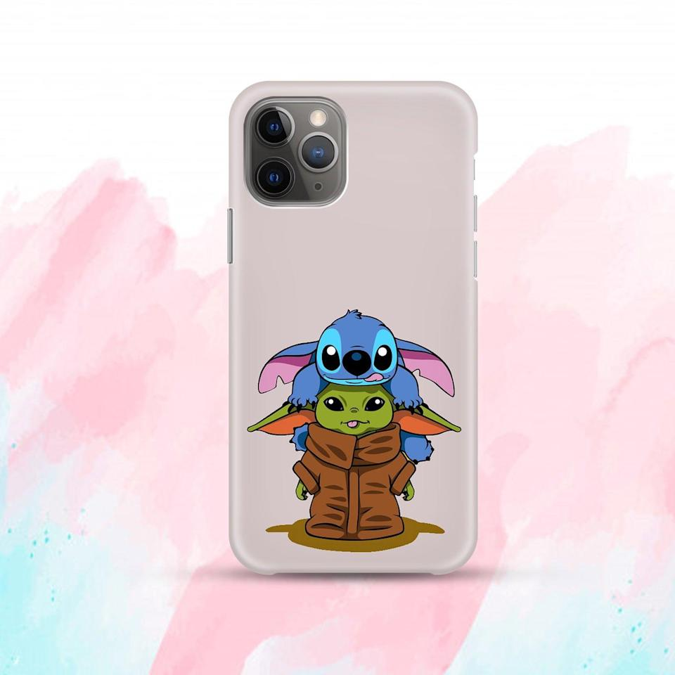 <p>The <span>Stitch and Baby Yoda Case</span> ($8, and up) is cuteness overload.</p>