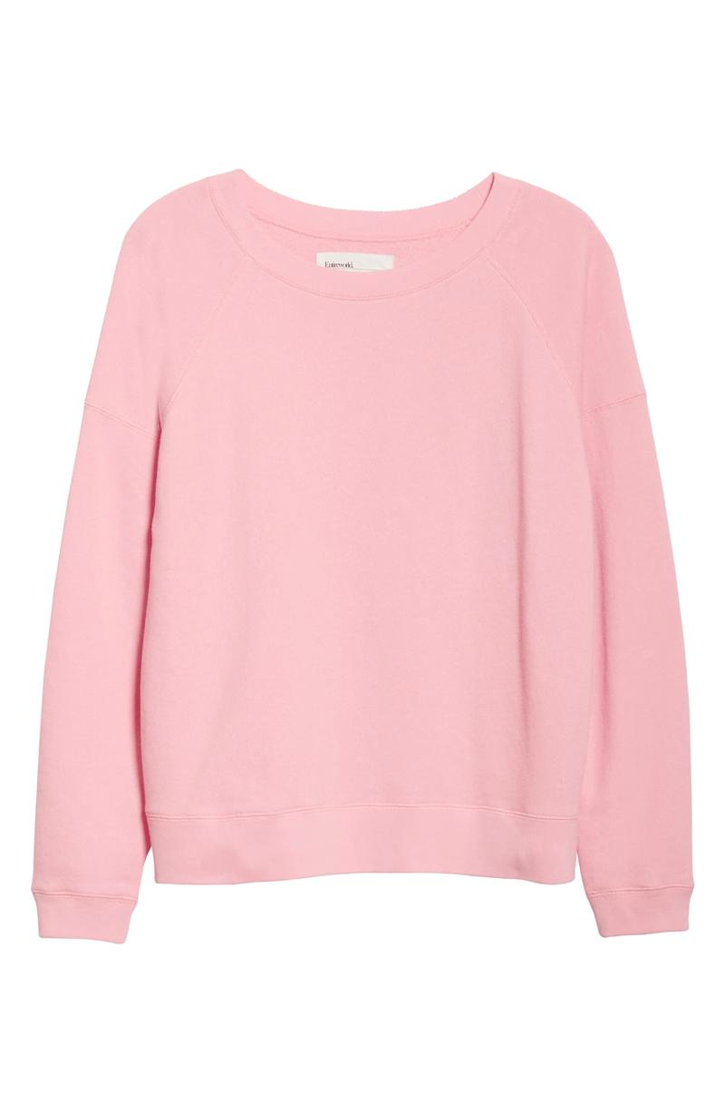 Entireworld French Terry Sweatshirt. Image via Nordstrom.