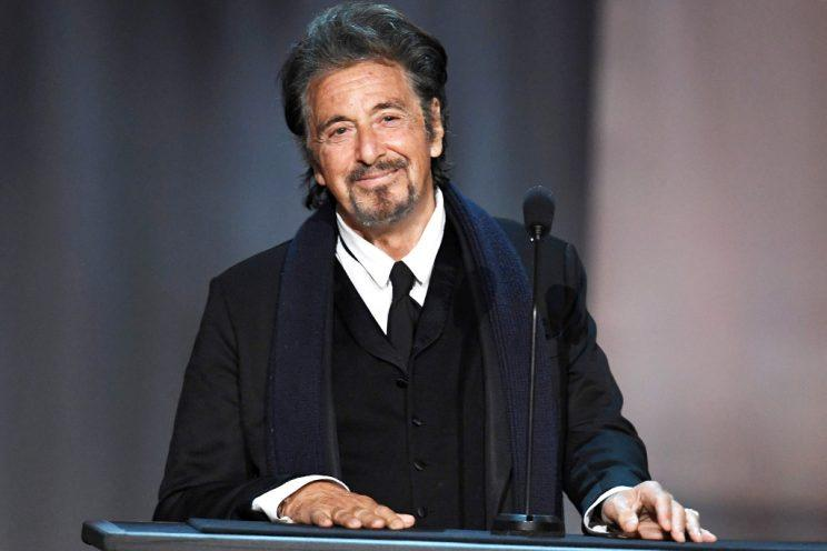 Al Pacino feted Diane Keaton at the American Film Institute's 45th Life Achievement Award.