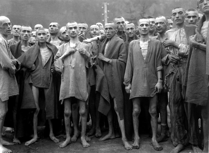 The Allied Powers prosecuted hundreds of Nazis for war crimes against Jewish people: Wikipedia
