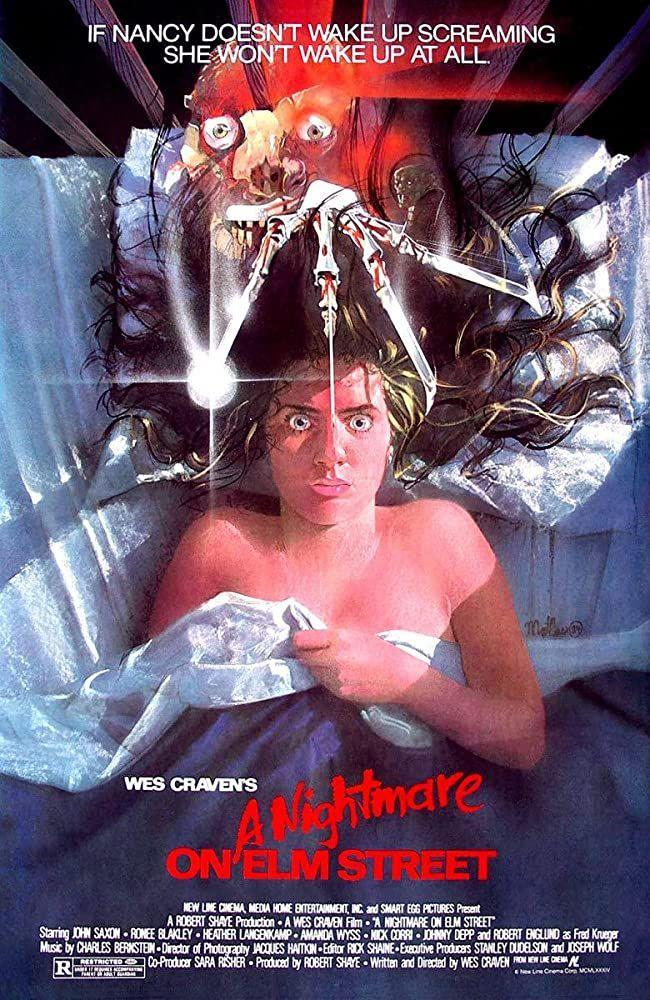"<p>The film features the birth of Freddy Krueger and the most overused Halloween costume ever.</p><p><a class=""link rapid-noclick-resp"" href=""https://www.amazon.com/Nightmare-Elm-Street-John-Saxon/dp/B002R1UTAQ/ref=sr_1_1?dchild=1&keywords=A+Nightmare+on+Elm+Street&qid=1593549000&s=instant-video&sr=1-1&tag=syn-yahoo-20&ascsubtag=%5Bartid%7C10063.g.34171796%5Bsrc%7Cyahoo-us"" rel=""nofollow noopener"" target=""_blank"" data-ylk=""slk:WATCH HERE"">WATCH HERE</a></p>"