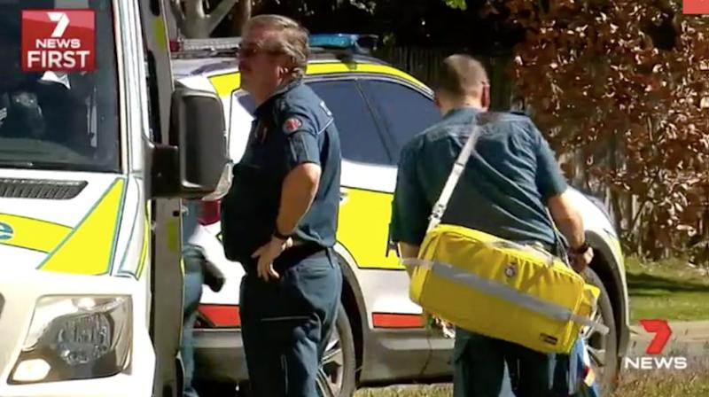 When paramedics arrived Ms Coles was in the shower trying to cool her burns. Source: 7 News